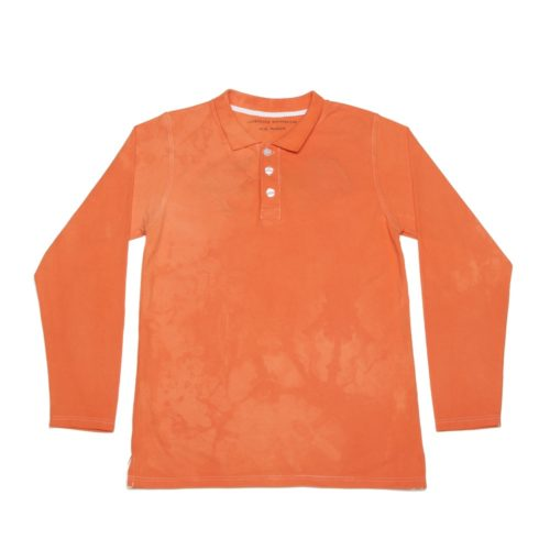 Polo_LS_Orange_Front